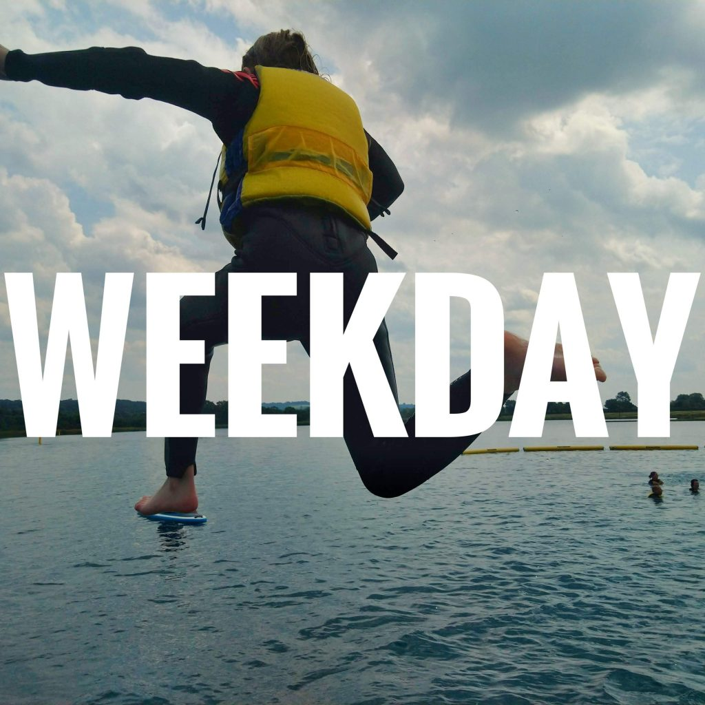Weekday Adrenaline Sessions!